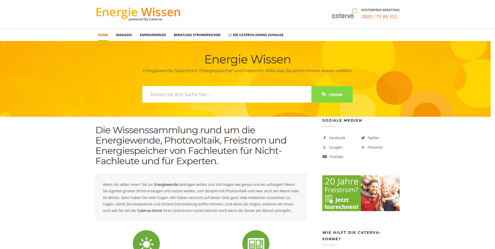 Energie Wissen Screen