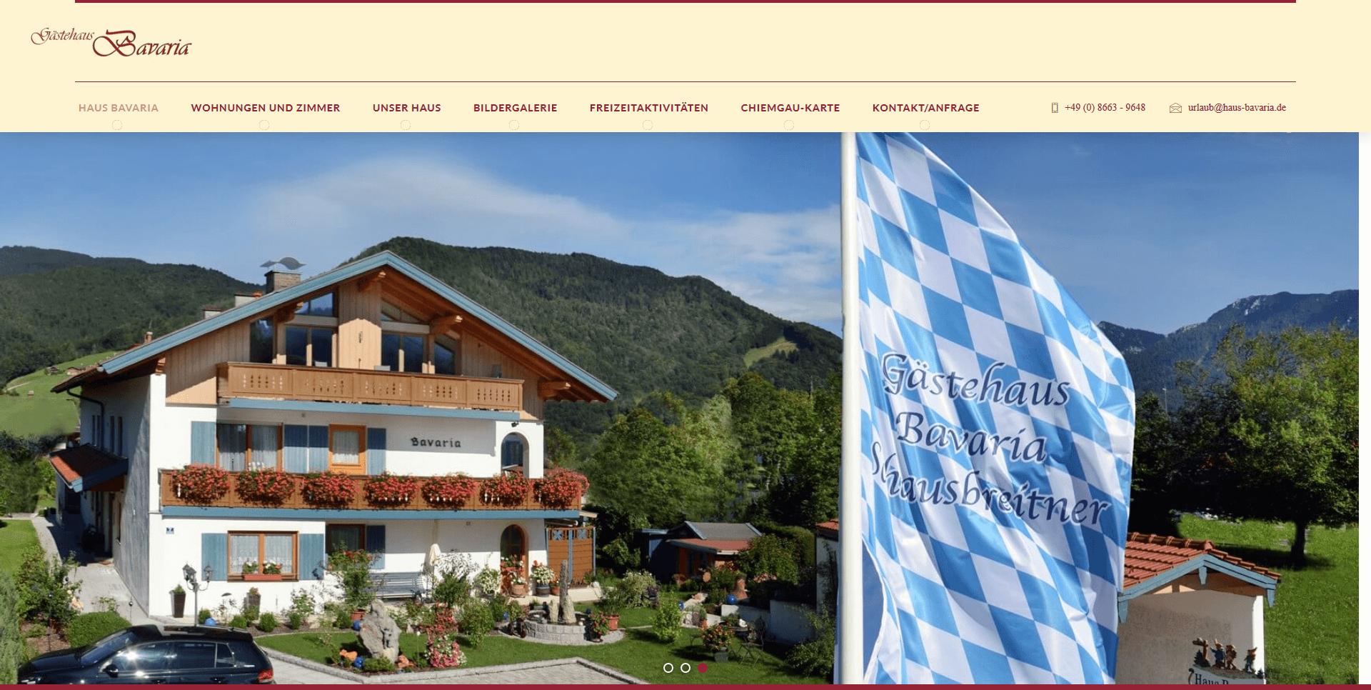 Haus Bavaria Urlaub